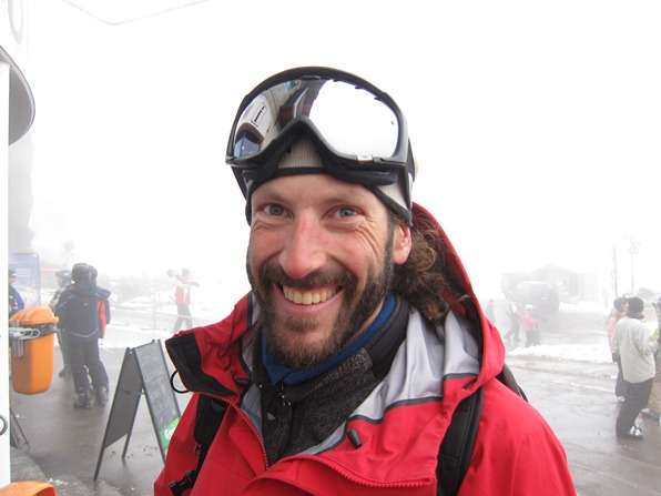 Peter Mason, American mountain guide based in the French Alps