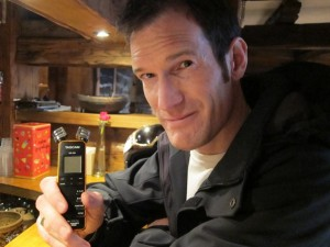 Conor Lennon from Mountain Radio Verbier