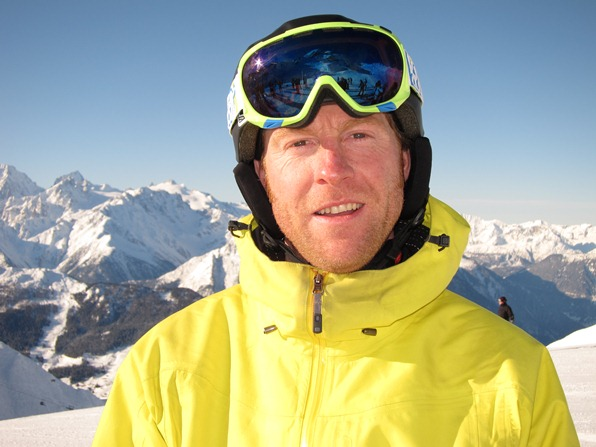 Warren Smith in Verbier