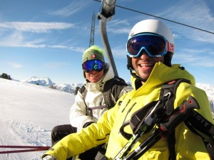 WSSA Gap-Year course 2010: Craig Roberts (left) and Jordan Revah (instructor, right)