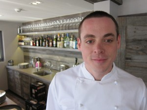 Daniel Cox, chef at No. 14, Verbier