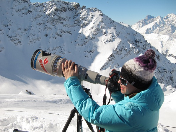 Photographer at Xtreme Verbier, Freeride World Tour