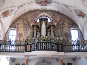 Organ of Andermatt church
