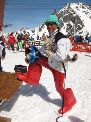 Philippe May at XSpeedSki, Verbier
