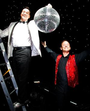 Craig Revel Horwood and James Bedding on P&O Oriana's Strictly Come Dancing cruise